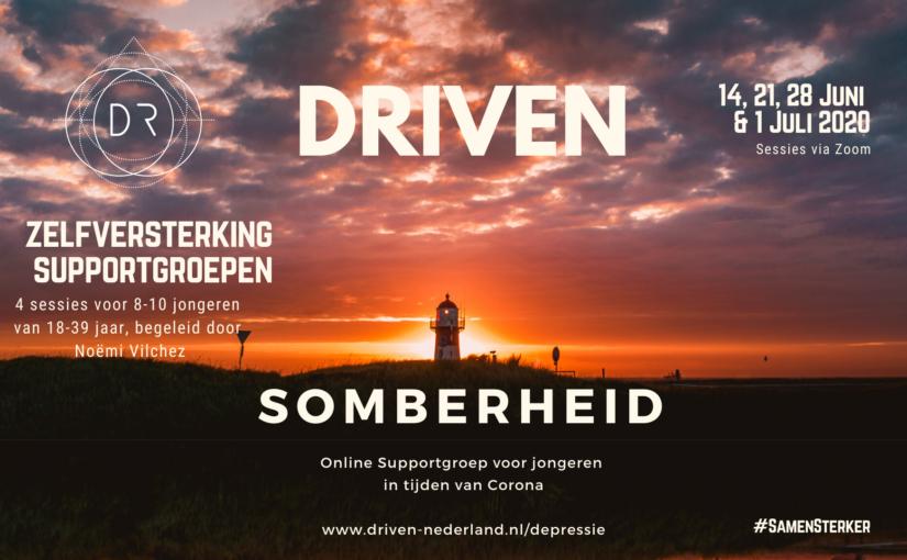 depressie somberheid supportgroep banner 2020 driven nederland noemi vilchez
