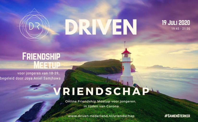 driven support joya vriendschap eenzaamheid friendship meetup