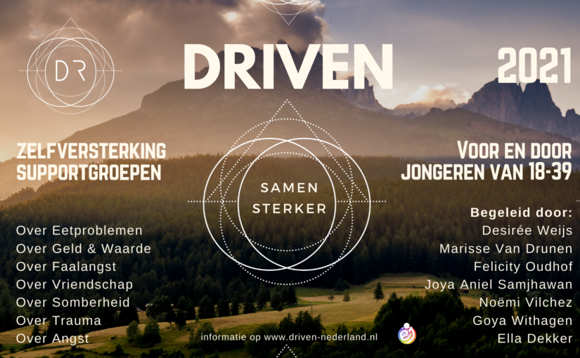 poster 2021 driven supportgroepen v4